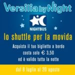 Torna il Versilia by Night, lo shuttle della movida