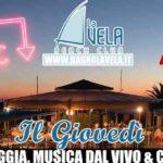 Cena Spettacolo in Spiaggia - Giovedì Estate Bagno La Vela